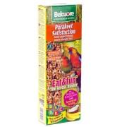 Belcuore Baton Papagali Mici Fructe Tropicale 115gr, 2buc