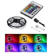 colour changing led strip light smd rgb colour changing with led driver and remote - 5 meters (Water Proof)