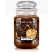 Country Candle 2 Wick Large Jar Coffee Shop