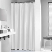 Sealskin Shower Curtain Granada 120 cm White 217001110