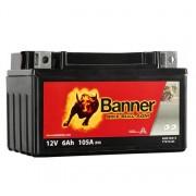 Banner YTX7A-BS Bike Bull AGM motorkerékpár akkumulátor - 50615