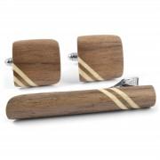 Bug Wooden Accessories Notenhouten Set