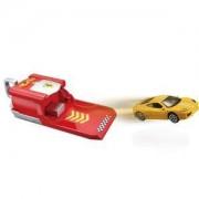 Детска играчка, Bburago Ferrari - Изстрелвачка с количка Ferrari, със звук, 093933