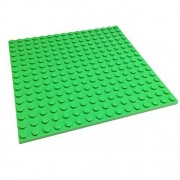 Lego Parts: Creator Building Plate 16 x 16 (Bright Green)