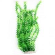 Unbranded 50cm Height Fish Tank Green Underwater Plastic Plant Grass Ornament