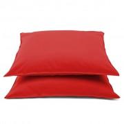 Emotion Калъфки за възглавници, 2 бр, 60x70 см, червени, 0222.80.71