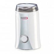 Rasnita electrica de cafea Hauser 150W 50 g lama din otel inoxidabil alb