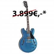 Gibson ES-335 Metallic Top 2018 Ice Blue Metallic #10238729