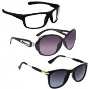Vitoria Wayfarer, Spectacle , Over-sized Sunglasses(Multicolor)