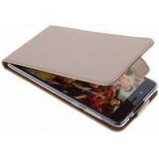Selencia Luxe Softcase Flipcase Nokia 8 hoesje - Goud