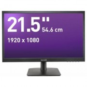 Wortmann TERRA 2226W - GREENLINE PLUS - écran LED - 21.5 (21.5 visualisable) - 1920 x 1080 Full HD (1080p) - MVA - 250 cd/m² - 5 ms - HDMI, VGA - haut-parleurs - noir mat - Ecran PC