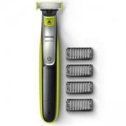 Тример за подстригване, оформяне и бръснене Philips QP2530/20, 4 гребена, Индикатор за зареждане