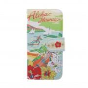 【kahiko】手帳型iPhone7用スマホケース Hawaiian その他7 レディース