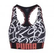 Puma Bralette graffiti print racer back