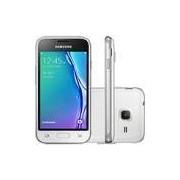 Smartphone Samsung Galaxy J1 Mini Dual Chip Android 5.1 Tela 4 8GB 3G Wi-Fi Câmera 5MP - Branco