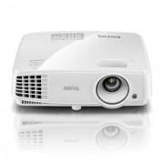 Мултимедиен проектор BenQ TW529, DLP, WXGA, 3300 ANSI, 13000:1, HDMI, USB, up to 10 000 h lamp life, 3D, white - 9H.JFD77.14E