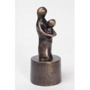 Asbeeld Moeder En Kind 18 cm, Brons (0.04 liter)