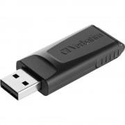 USB stik 16 GB Verbatim Slider crni 98696 USB 2.0