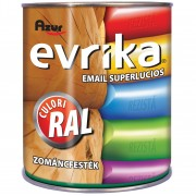 Vopsea Email AZUR S5044 Evrika Rosu RAL 3020 0.75 Litri