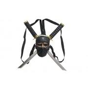 Charades Ninja Katana Backpack Costume Accessory, Na, One Size Laptop Backpacks