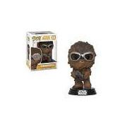 Boneco Funko Pop Star Wars Solo - Chewie With Goggles Funko Pop Na