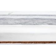 Saltea Sensillo Luxe Hrisca-Spuma-Cocos cu Aloe Vera 120x60x11 cm