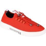 Somugi Mesh Red Walking Canvas Casual Sneakers Shoes for Men and Boys
