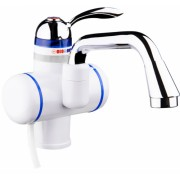 Нагревател за вода 7100 AERON, 3000W, до 55 градуса, Монтаж на плот - вертикален, Бял