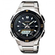 Casio Youth Analog-Digital Black Dial Mens Watch - AQ-S800WD-1EVDF (AD170)