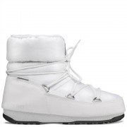 Tecnica Moon Boot Donna Nylon Low WP, Taglia: 37, Per adulto Donna, Bianco, 24009300-002, IN SALDO!