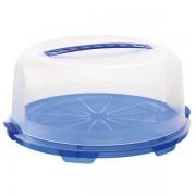 Vassoio - Tortiera Rotho F707118 - 304847 Tortiera in ppl - blu - Confezione 1 - F707118