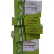 MXOFERE Aloevera soap SET OF 5 GLYCERINE SOAPS MRP Rs .300 and offer prize Rs .185/