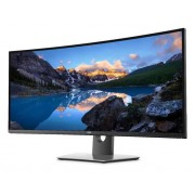"Dell UltraSharp U3818DW LED display 95,2 cm (37.5"") Ultra-Wide Quad HD+ Curvo Opaco Nero"