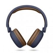 Слушалки Energy Sistem Headphones 2, безжична, микрофон, сини, 300 mAh батерия