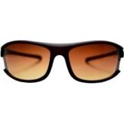 Flip Retro Square Sunglasses(Red)