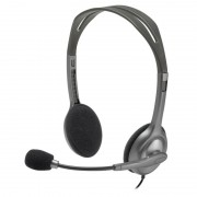 HEADPHONES, LOGITECH H111 Stereo, Microphone (981-000593)