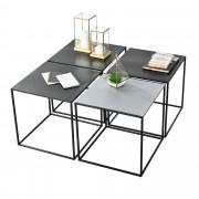 [en.casa]® Konferenční stolek AAMR-7806
