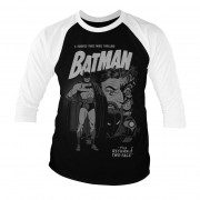 Batman - Return Of Two-Face Baseball 3/4 Sleeve Tee