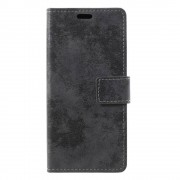 GSMWise Samsung Galaxy A6 (2018) Hoesje - Vintage Wallet Case met Kaarthouder - Grijs