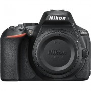 Nikon D5600 DX-Format Digital DSLR Body Only Black, 24.2MP,5fps, ISO to 25,600, HD