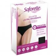 Saforelle Slip negru ultra absorbant menstruatie Marimea 40