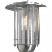 Konstsmide Venkovní nástěnné osvětlení Konstsmide Trento 7565-000, E27, 60 W, nerezová ocel, akryl, nerezová ocel