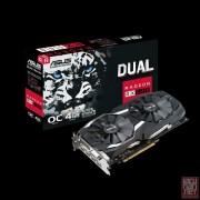 ASUS DUAL-RX580-O4G, AMD Radeon RX 580, 4GB/256bit GDDR5, DVI/2xHDMI/2xDP, Asus cooling