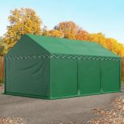 TOOLPORT Storage Tent 4x6m PVC 500 g/m² dark green waterproof
