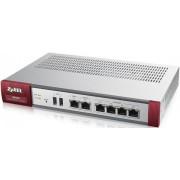 ZyXEL Netw ZyWALL USG-60 Firewall Appliance 10/100/1000, 2 WANs, 4 LAN / DMZ ports, 2 x USB, 20 x VPN Tunells, rack mounted
