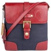 Hidesign Shoulder Bag(Blue, Red)