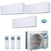 Daikin Trio Split 2.0+2.0+2.0 +4.0 kW Stylish Wit Air Conditioner WiFi R-32 3xFTXA20AW +3MXM40N A+++/A++ 7+7+7