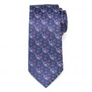 Férfi selyem nyakkendő virágmintával 9620