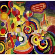 Puzzle Grafika - Robert Delaunay: Hommage a Bleriot, 1914, 1.500 piese (46022)