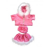 "Pink ""Love"" Dress Teddy Bear Clothes Outfit Fits Most 14"" - 18"" Build-a-bear, Vermont Teddy Bears, a"